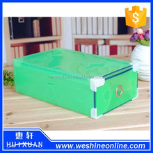 Foldable Strong Plastic PP Storage Drawer Container Organizer Shoe Box Holder HX-S079