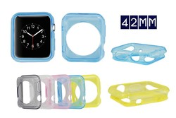 newest hot selling Ultra thin TPU case for apple watch