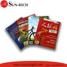 Custom A4 magazine printing service brochure booklet printing