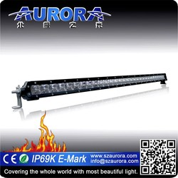 IP69K, IP68 Certified AURORA 30inch 150W single row off road led work light