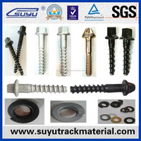 SCREWS,BOLTS,WASHERS/Railway fasteners manufactures in China