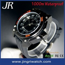 Custom watches 2015 1000m watchproof watches for men.High quality china mens wrist watches