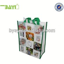 Picture Printed shopping bag with roller