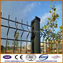Welded wire mesh fence clips / zoo used welded fencing / ISO9001 collapsible fence