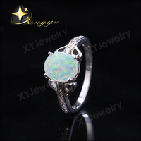 Silver jewelry ring finger whole for life ring XYR300493