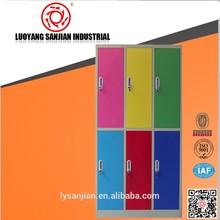 seis colorido barato porta do armário
