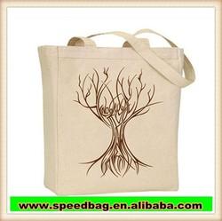 Portable cotton cloth bag canvas handbag customize cotton shopping bag R108