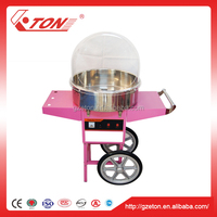 Commercial Cotton Candy Floss Machine Maker with Cart