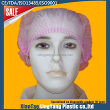 Disposable Peaked cap,CE/ISO13485/NELSON/FDA