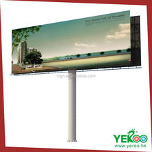 picture frame steel structures outdoor advertisement outside billboard