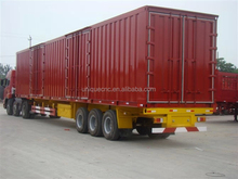 big size advance design low bed/ tipper/ box log trailer