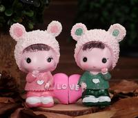 Cartoon characters heart wedding gift birthday gifts crafts room decorations