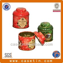empty custom round biscuit tin box,tin cans