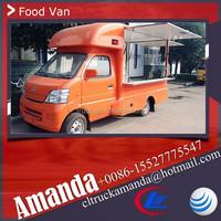 Cheap China Changan 4*2 69hp mobile kitchen food van