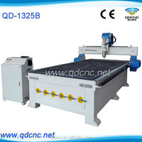 3d cnc wood carving router QD-1325B cnc mdf cutting machine cnc router with DSP