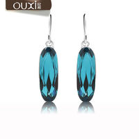 OUXI Jewelry fashion lady earring factory made with Swarovski Elements