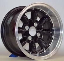 mini 13 inch negative offset alloy wheels