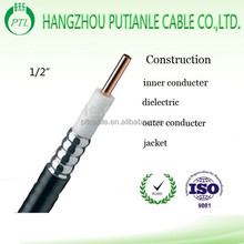 "50ohm high quality coaxial cable 1/2"" s for communication"