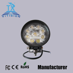 high quality products 27w waterproof truck marine led work light