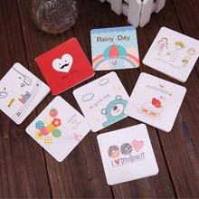 Pass non-toxic glue test greeting card cut gold