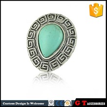 New Style Adjustable Water Drop Turquoise Rings For Women, Fashion Jewelry Ring