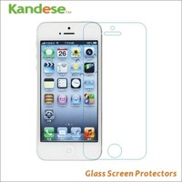 0.3mm Thin Premium HD Clear Explosion-proof Tempered Glass Screen Protector Cover Guard Film For iPhone 5 5G 5S 5C