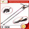 High quality nordic carbon fiber walking cane,light poles