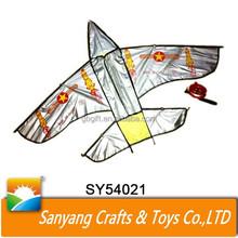Promotional paper kite flying rocket image kite for child