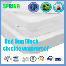 Zipper Mattress bed Cover King Amazon Best selling Reusable box spring beds