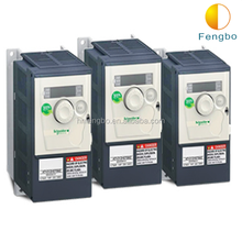 Frequency inverter for changing the frequency of motor operating power