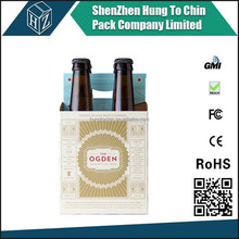 Packing factory printed corrugated paper beverage packing carton beer carrier