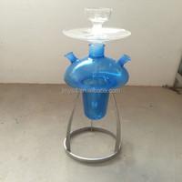 P20011 beautiful glass chicha hookah /shisha/e/nargile pipe/water pipe/with led light/sheesha/narguile