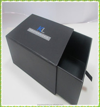 custom drawer cardboard gift box/sunglass sliding drawer packaging box