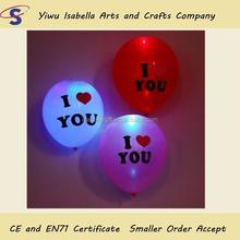 Flashing LED balloon with Logo printed