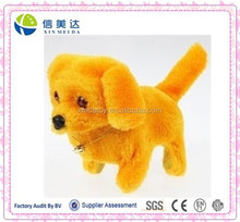 Cute walking barking dog animal baby toys stuffed animal plush toy
