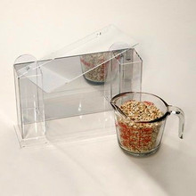 Hot sale acrylic large clear window bird feeder