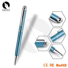 Jiangxin wood material cut twist metal pen with roller pen