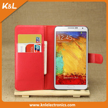 Mercury Top Quality Sonata Diary Leather Wallet Case w/ Stand for Samsung Galaxy Note 3 Neo N7505