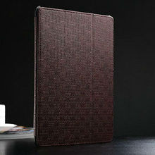 2015 Wholesale China New Case Luxury red leather flip cases for ipad 5 air , for ipad air leather case , stand case for ipad air