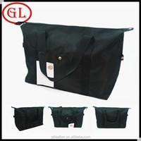 Guangdong manufacturers black waterproof travel duffel bag