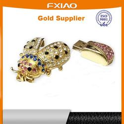 multiple mobile phone holder led crystal usb drive 8gb for wholesales