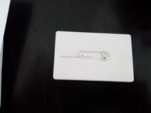 Credit card dental floss
