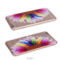 custom design transparent tpu pc cell phone case