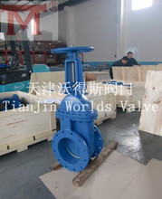 Z41H Cast Iron Rising Stem Gate Valve with alloy seal
