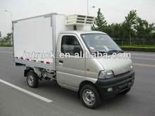 Euro 4 mini gasoline refrigerator van