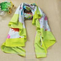 Wholesale hot selling fashion italian silk scarf