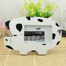 The new creative photo frame cute pig 5 inch photo frame