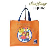 OEM manufacturer textile shopping bag recycled supermarket folding shopping bag