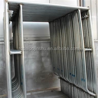 construction design Q235/Q345 steel structures steel H frame structure