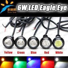 Factory manufacture Hot Sell Waterproof 6W High Power Led Eagle Eye Auto Lamps Color changing led eagle eye light head fog light